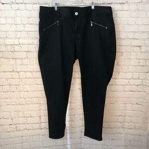 Lane Bryant Black Ankle Pants Size 22